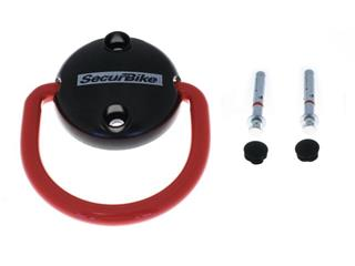 SECURBIKE Antitheft Ring Wall or Floor - 2 Security screws included