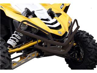 ART Front Bumper Aluminium Black w/ Headlight Covers Yamaha YXZ1000R