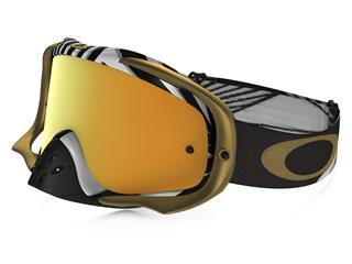 Masque OAKLEY Crowbar MX Jeffrey Herlings Signature Series écran 24K Iridium
