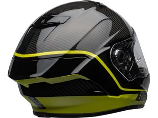 BELL Race Star Flex DLX Helmet Velocity Matte/Gloss Black/Hi Viz Size L - 94738412-53c0-499a-85b2-145fb62625b1