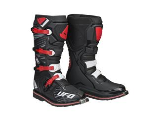 UFO Obsidian Boots Black/Red Size 41