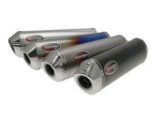 SILENCIEUX OVALE POUR GSF650-1250 BANDIT 2007-08 & GSX650F 2008 - 76309814
