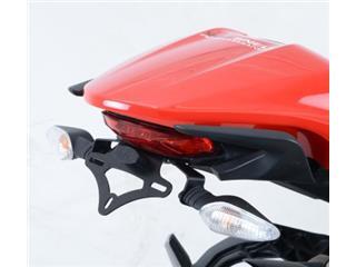 Support de plaque noir R&G RACING Ducati 1200, 821 MONSTER