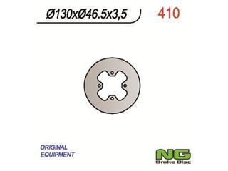 Disque de frein NG 410 rond fixe - 350410