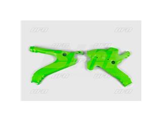 Protector de chasis UFO Kawasaki verde KA02738-026