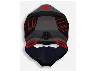 UFO Diamond Helmet Matt Black/Red Size M - 95bb2a3c-261f-4281-b665-b1df64f80c00