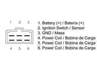 Régulateur TECNIUM type origine Kawasaki - 95d57153-b148-4139-ac95-037db79b25db