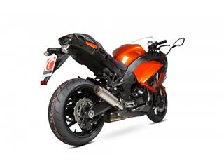 """Escape Scorpion RP-1GP Slip-On Titanio satinado Kawasaki Z 1000 SX 17-Current  17-19"""