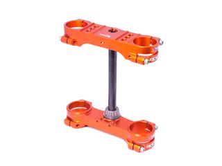 XTRIG Rocs Tech Triple Clamp Orange 25mm offset