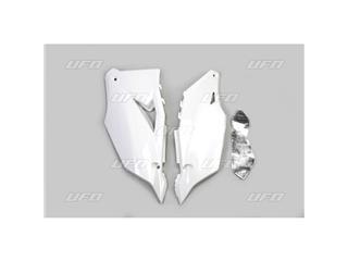 Plaques latérales UFO blanc Kawasaki KX450 - 4430000702