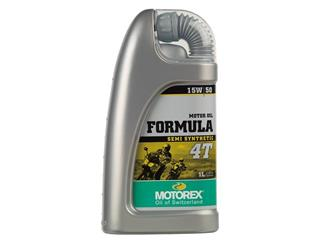 MOTOREX Formula 4T 15W50 Semi-Synthetic Motor Oil 1L