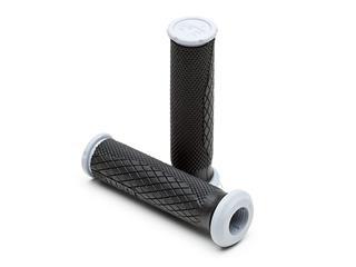 Revêtements PRO TAPER Quad Dual Density full grip noir/gris - PT3702