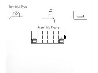 Batterie YUASA 12N5-3B conventionnelle - 96d4f5d1-ba10-4dec-b2d8-151af59ae905