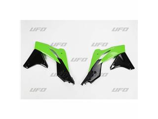 Ouïes de radiateur UFO couleur origine 2013 vert/noir Kawasaki KX250F - 78237599