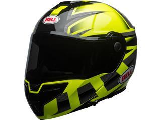 BELL SRT Modular Helmet Gloss HI-VIZ Green/Black Predator Size XXL