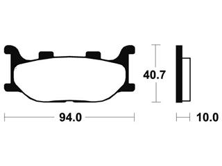 TECNIUM Bremsbelage MSS191 sintermetall - 9751ee63-e76a-457f-a232-53b451842f8c