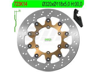 Disco de freno NG 723K14 Ø320 x Ø118 x 5