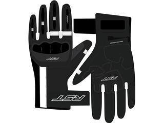 RST Pilot CE Gloves Leather Black/White Size XXL Men