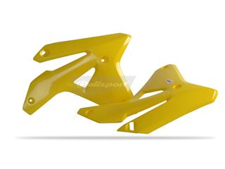 Ouïes de radiateur POLISPORT jaune Suzuki RM-Z450 - 784285YW