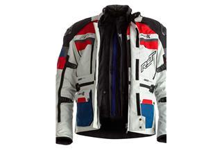 Chaqueta Textil (Hombre) RST ADVENTURE-X Azul/Rojo , Talla 52/M - 9790e67c-00a2-4b51-be04-5fc6a2af5601