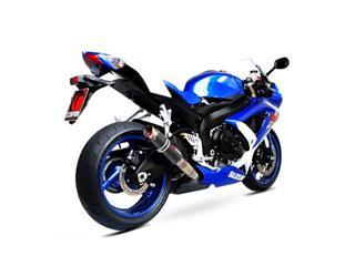 Silencieux Scorpion RP1-GP (simple) carbone Suzuki GSX-R600