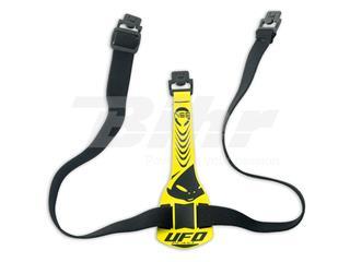 Correias elásticas sobresselentes proteção de pescoço UFO amarela PC02289-D