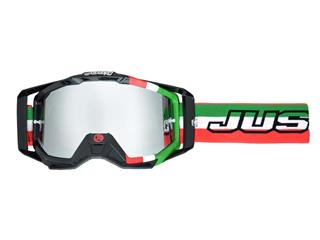 Masque JUST1 Iris Italia vert/blanc/rouge