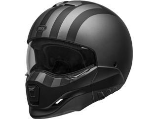 BELL Broozer Helmet Free Ride Matte Gray/Black Size L - 800000601070