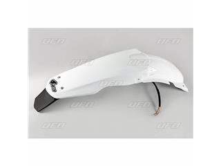 Garde-boue arrière blanc & support de plaque UFO Suzuki RM125/250 - 78312710