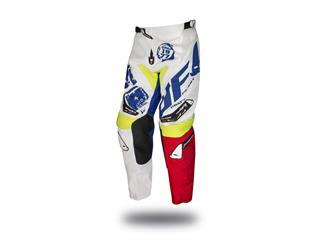 Pantalon UFO Draft blanc/bleu/rouge/jaune fluo taille 54
