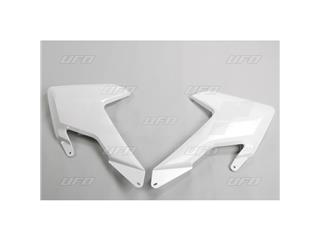 Plásticos laterales de radiador UFO Husqvarna blanco HU03365-041