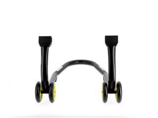 Béquille avant BIHR Home Track noir mat roues jaune - 98727883-036d-4fe7-bfa2-ca875205497d
