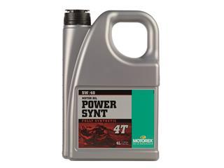 Huile moteur MOTOREX Power Synt 4T 5W/40 synthétique 4L - 551748