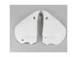 Plaques latérales UFO blanc Kawasaki KX80 - 78226912
