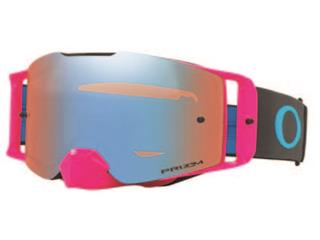 Masque OAKLEY Front Line MX rose/bleu écran Prizm MX Sapphire Iridium