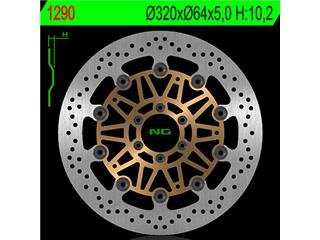 Disque de frein NG 1290 rond semi-flottant