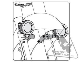 DENALI Fender Light Mount Harley Davidson - 992a37d2-9e29-49a8-bf03-ff554d65432a