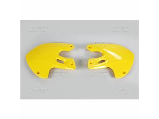 Ouïes de radiateur UFO jaune Suzuki RM125/250 - 78332763
