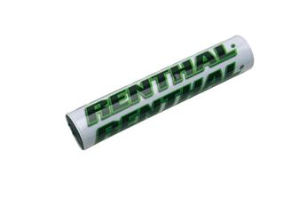 RENTHAL Mini SX Handlebar Pad 205mm White/Green