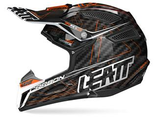 Casque LEATT GPX 6.5 junior carbone orange/noir/gris taille Jr M - 433443XS