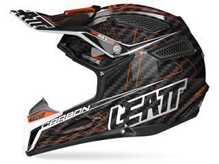 Helm LEATT GPX 6.5 Junior Carbon orange/schwarz Gr. XS