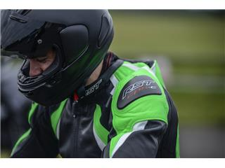 RST Pro Series CPX-C II Suit Leather Flo Green Size S - 9a291953-900e-4545-8005-cd20bc45b418