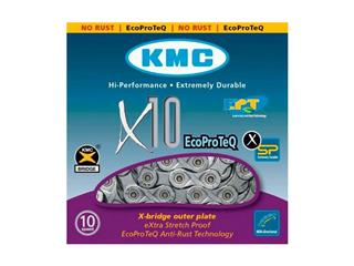 KEDJA KMC X10 ANTIROST (10-DELAD, EPT)