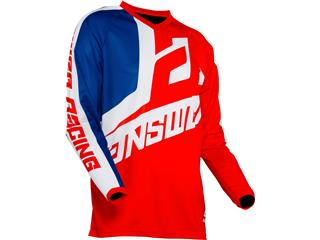 Camiseta Infantil Answer SYNCRON VOYD Rojo/REFLEX/Blanco, Talla YXS - 9a41a22b-a6b7-4bea-aac6-d134f97159e7