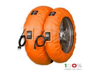 Calentadores CAPIT Suprema Vision Color naranja (17'' - Del.120/Tra.200/55)