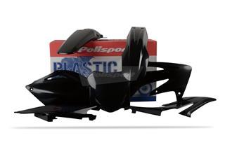 Kit plastique POLISPORT noir Honda CRF250R