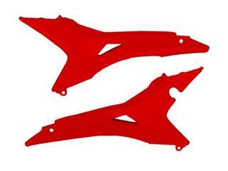 Caches boite à air UFO rouge Honda CRF450R USA - 78168031