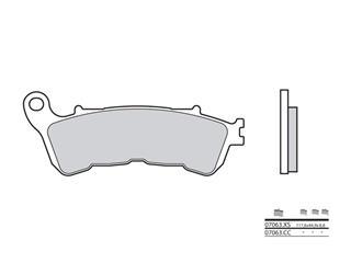 BREMBO Bremsbelage 07063CC carbon keramik