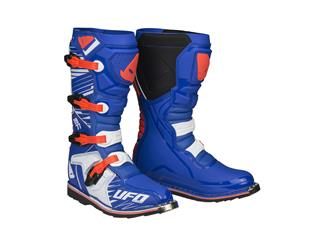UFO Obsidian Boots Blue/Orange Size 45