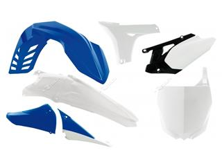 RACETECH Plastic Kit OEM Colour (2013) Blue/White Yamaha YZ450F